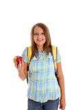 Muchacha adolescente de la escuela Foto de archivo