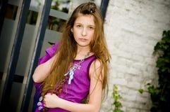 Muchacha adolescente de la manera fotos de archivo