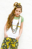 Muchacha adolescente de la manera Foto de archivo libre de regalías