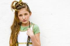 Muchacha adolescente de la manera fotografía de archivo libre de regalías