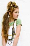 Muchacha adolescente de la manera Imagen de archivo