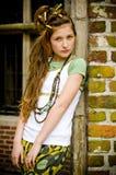 Muchacha adolescente de la manera Fotos de archivo libres de regalías