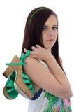 Muchacha adolescente de moda Foto de archivo
