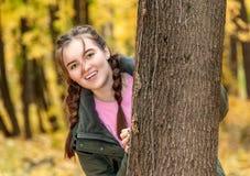 Muchacha adolescente de risa Foto de archivo