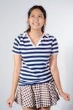 Muchacha adolescente de Tailandia feliz Foto de archivo
