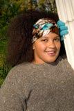 Muchacha adolescente del afroamericano Fotografía de archivo libre de regalías
