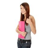 Muchacha adolescente del estudiante Foto de archivo