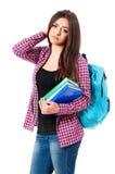 Muchacha adolescente del estudiante Fotos de archivo libres de regalías