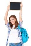 Muchacha adolescente del estudiante Imágenes de archivo libres de regalías