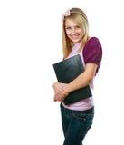 Muchacha adolescente del estudiante de la manera Fotografía de archivo