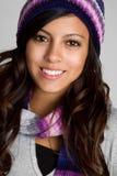 Muchacha adolescente del invierno Imagen de archivo