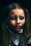 Muchacha adolescente del payaso Foto de archivo libre de regalías