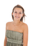 Muchacha adolescente del retrato Foto de archivo