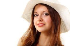 Muchacha adolescente del verano alegre en Panamá Fotos de archivo