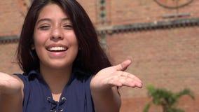 Muchacha adolescente emocionada Foto de archivo libre de regalías
