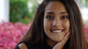 Muchacha adolescente emocionada Imagen de archivo