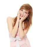 Muchacha adolescente en alineada elegante Foto de archivo libre de regalías
