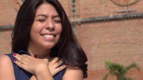 Muchacha adolescente en amor Imagen de archivo libre de regalías