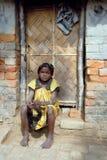 Muchacha adolescente en brick-field Fotografía de archivo libre de regalías