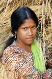 Muchacha adolescente en la India Fotos de archivo libres de regalías