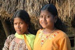 Muchacha adolescente en la India Fotografía de archivo