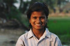 Muchacha adolescente en la India Foto de archivo