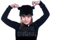 Muchacha adolescente en traje Imagen de archivo