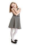 Muchacha adolescente encantadora Fotos de archivo