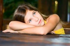 Muchacha adolescente encantadora del retrato Imagen de archivo libre de regalías