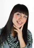 Muchacha adolescente feliz Imágenes de archivo libres de regalías