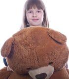 Muchacha adolescente feliz agradable Imagenes de archivo