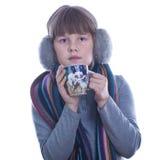 Muchacha adolescente feliz agradable Fotos de archivo libres de regalías