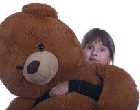 Muchacha adolescente feliz con un juguete Foto de archivo