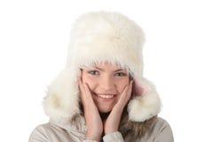 Muchacha adolescente feliz hermosa Imagen de archivo libre de regalías