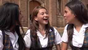 Muchacha adolescente feliz y emocionada Fotografía de archivo
