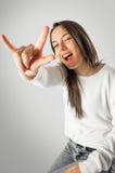 Muchacha adolescente fresca Fotografía de archivo libre de regalías
