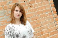 Muchacha adolescente hermosa Foto de archivo libre de regalías