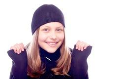 Muchacha adolescente hermosa Fotografía de archivo