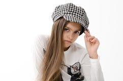 Muchacha adolescente hermosa Imagen de archivo libre de regalías