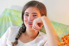 Muchacha adolescente hermosa Foto de archivo
