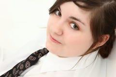 Muchacha adolescente hermosa en juego Imagen de archivo