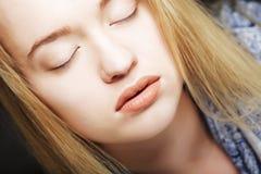 Muchacha adolescente hermosa, headshot Fotografía de archivo libre de regalías