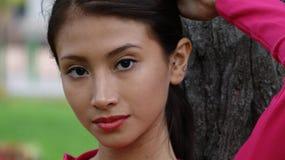 Muchacha adolescente hispánica Foto de archivo