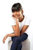 Muchacha adolescente india Fotos de archivo