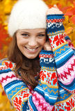 Muchacha adolescente joven feliz Imágenes de archivo libres de regalías
