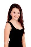 Muchacha adolescente natural con el pelo de cobre Imagen de archivo