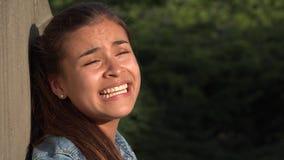 Muchacha adolescente neurótica Foto de archivo libre de regalías
