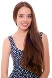 Muchacha adolescente o mujer joven en estudio Imagen de archivo libre de regalías