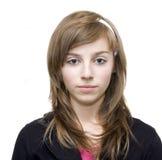 Muchacha adolescente ocasional Foto de archivo libre de regalías