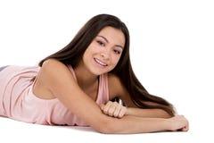 Muchacha adolescente ocasional Imagen de archivo